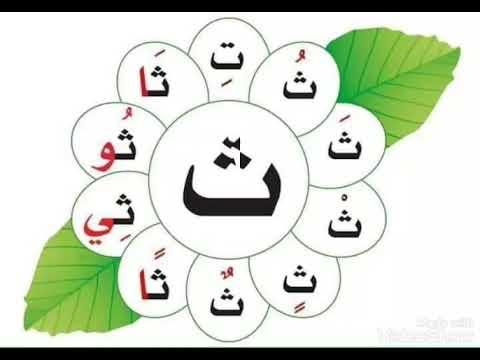 حروف-اللغة-العربية-مع-حركاتها-الطويلة-والقصيرة-تعليم-الجروف-كتابتها-صور-جذابة-للطفل