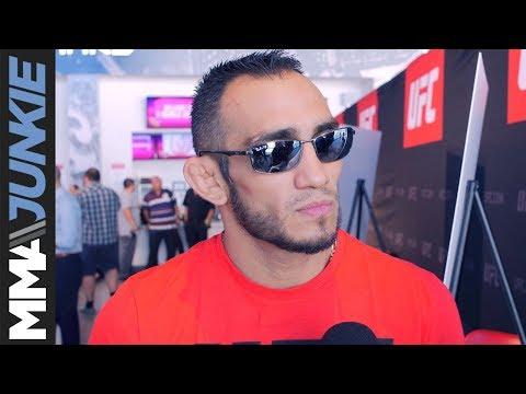 Tony Ferguson full UFC 216 media day interview