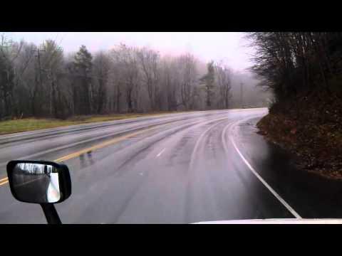 US Highway 421 South starting in Deep Gap, North Carolina