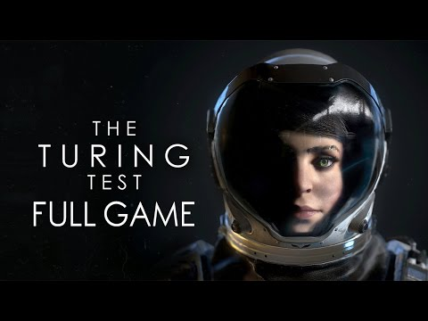 """The Turing Test - Let's Play - """"FULL GAME"""""""