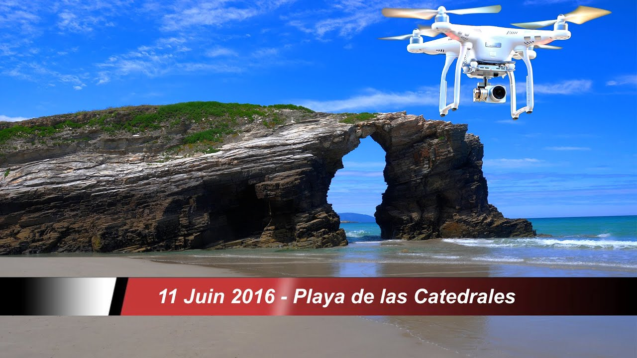 playa de las catedrales videos