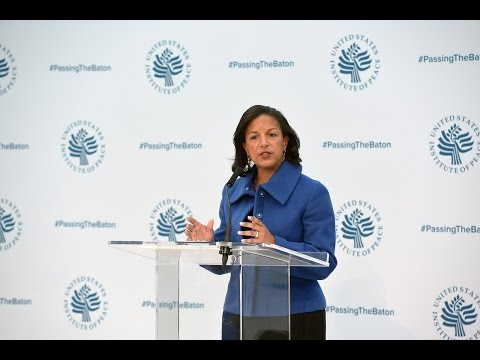 Passing the Baton 2017: Ambassador Susan Rice