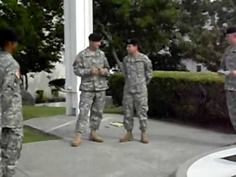 Promotion to Private First Class
