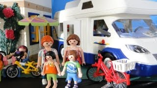 PLAYMOBIL Camping Car summer fun vacances thumbnail
