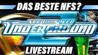 NEED FOR SPEED UNDERGROUND 2 Livestream Deutsch   Live Let's Play German