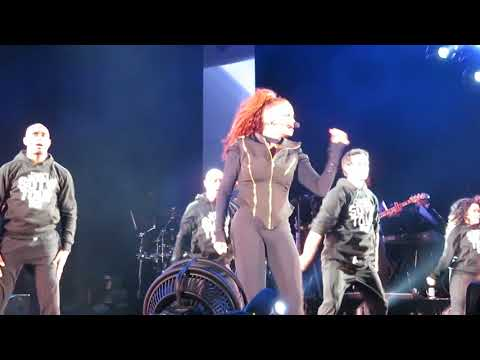 Janet Jackson - Rhythm Nation - Hollywood Bowl - SOTW Tour