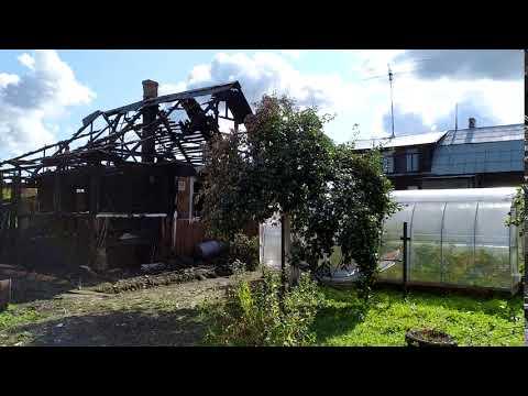Дом в Тосно после пожара