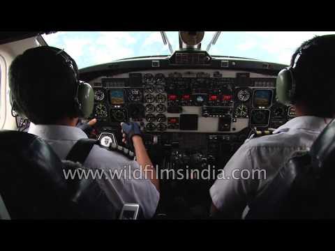 Nepal domestic flight to Pashupatinath - Hindu pilgrim travels on a wing and a prayer
