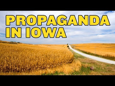 China's Propaganda War Attacks Iowa