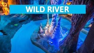 Plopsaqua De Panne - Wild River || Awesome winter cave canyon!