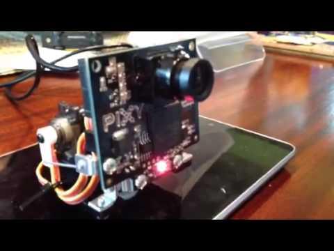 Pixy CMUcam5 Digital Camera: 2  Testing the Pan / Tilt Mechanism
