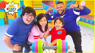 Ryan wants to be Strong on Ryan's Mystery Playdate with NFL Super Star Aaron Donald!