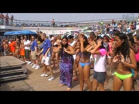 Wobble - Carnival Valor Cruise - 4 June 2013 - Caribbean