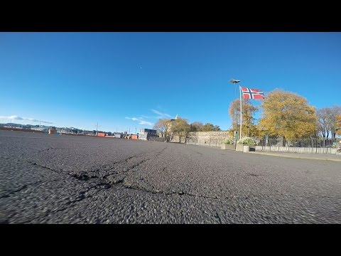 Ninebot ride in Oslo. The Docks & Royal Palace. Gopro Hero 4 Black.