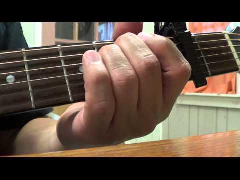 Blake Shelton - Sangria (chords, tutorial)