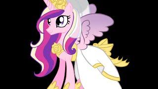 Мой маленький пони свадебный наряд принцессы  Каденс / My little pony  Princess Mi Amore Cadenza