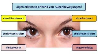 Lügen Erkennen Durch Augenbewegungen Youtube