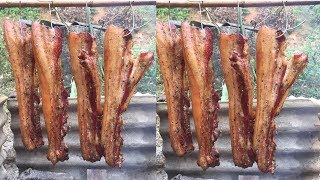 Thịt Ba Chỉ Hun Khói Cuối Năm Của Người Nùng - Bản Sắc Dân Tộc