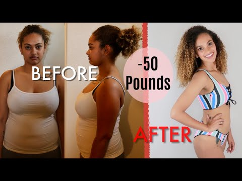 How I Lost 50 pounds!   WEIGHT LOSS TRANSFORMATION!