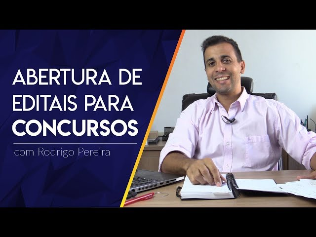 ABERTURA DE EDITAL PARA CONCURSO