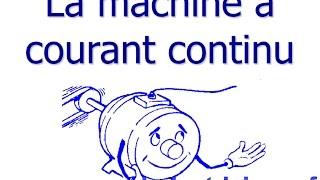 la machine à courant continue (DC) fonctionnement détaillé