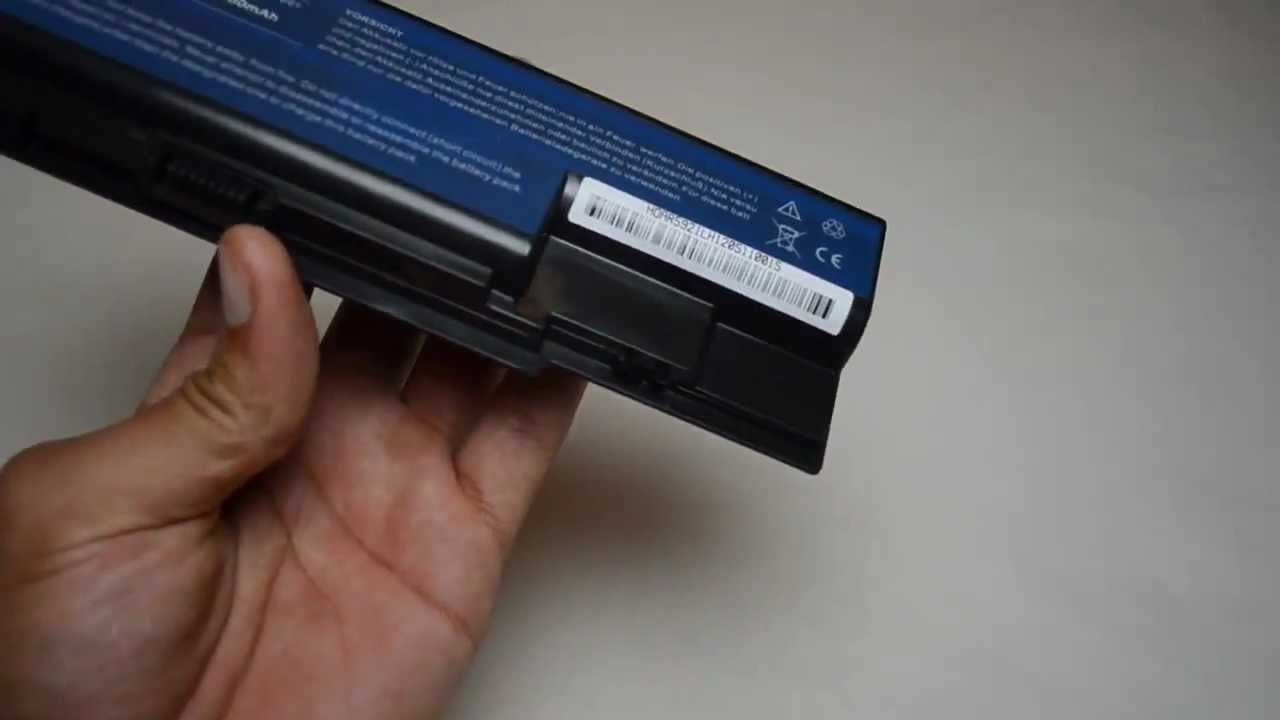 Acer Aspire 5220 5310 5315 5320    5520    5520G 5710 5720 5720Z 5910 Laptop Battery Replacement  YouTube
