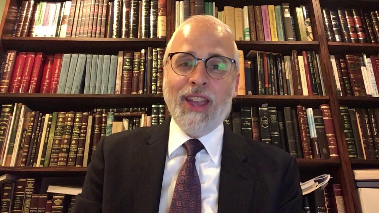 Rabbi Moshe Hauer encouraging the donation of Convalescent COVID-19 Plasma