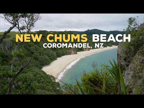 New Chums Beach, Coromandel, New Zealand