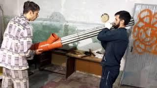 Рекуператор для приточной вентиляции своими руками (вытяжка для лазерного станка)