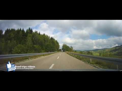 ROAD TRIP: from SJENICA (SERBIA) over PLJEVLJA and NIKSIC to ZELENIKA (MONTENEGRO)