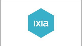 Ixia Intuitive Drag and Drop NTO Interface