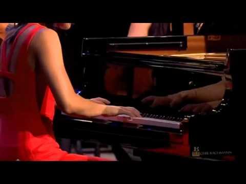 Yuja Wang (1/3) Prokofiev Piano Concerto No2, mvt 1 (Charles Dutoit)