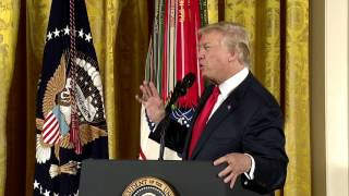 President Trump Awards the Medal of Honor