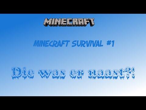 [NL] Minecraft Survival #1 (die was er naast?!)