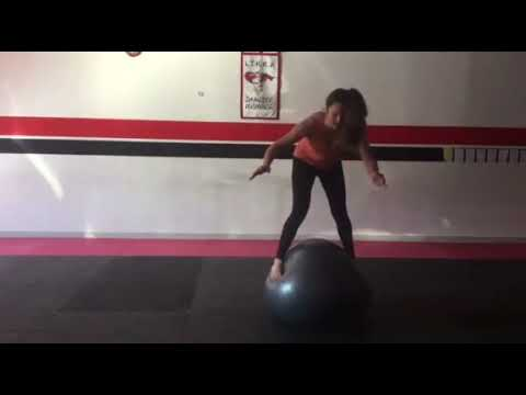DMA: Rain Land Yoga Ball Jump