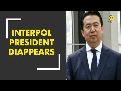 Interpol's President Is Reported Missing In China, Prompting Inquiry