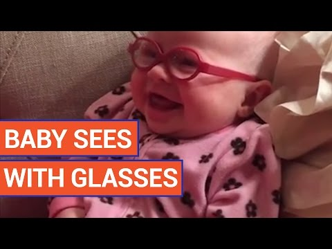 cute-baby-sees-mom-for-the-first-time-with-glasses-video-2016-|-daily-heart-beat