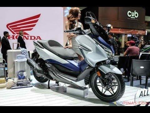 New Honda Motorcycles >> 2019 Honda Forza 300 First Look - YouTube