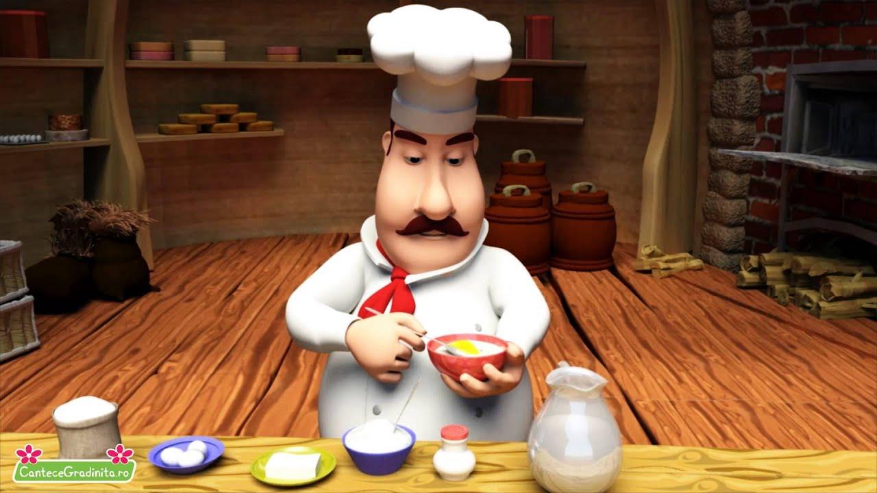 Coace Prajitura - Cantec Pentru Copii - CanteceGradinita.ro