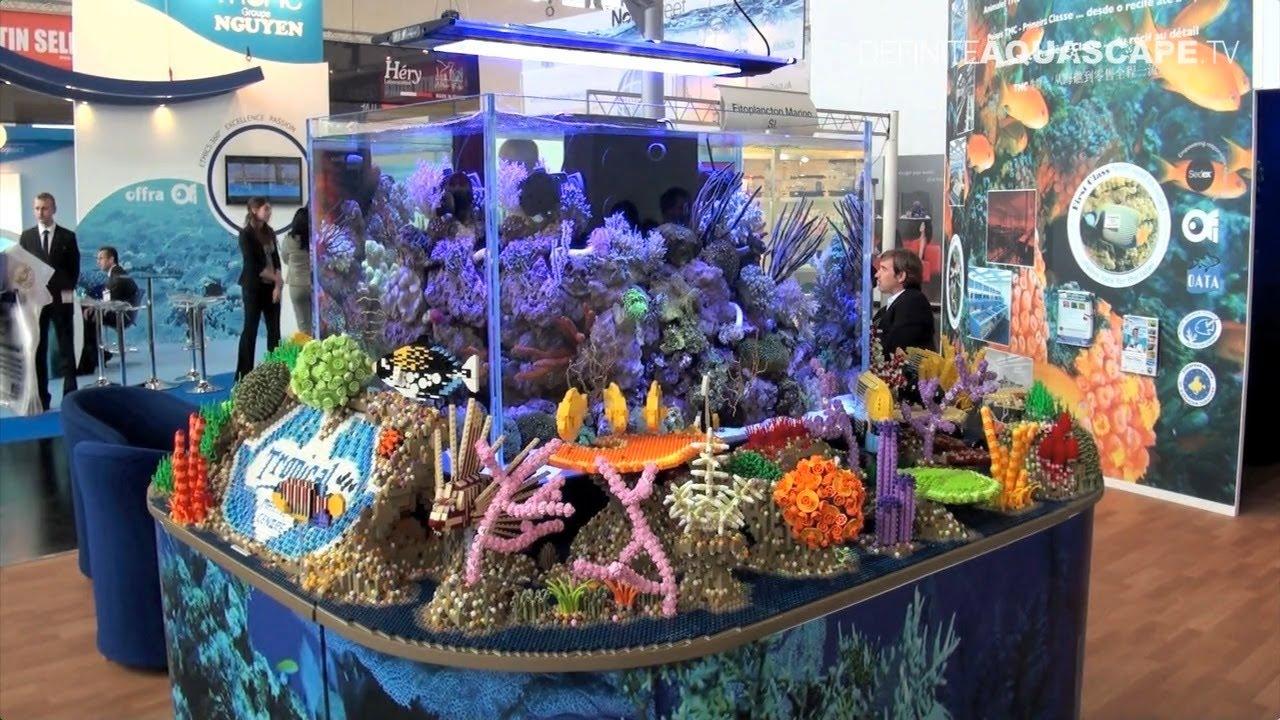 Aquarium Ideas From Interzoo 2014 Pt 4 Lego Marine Aquarium At