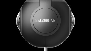Insta360 Air 360 Degree VR Camera for Android Unboxing Review