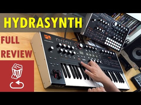 HYDRASYNTH: Full Review // Keyboard vs Desktop // Poly aftertouch tutorial