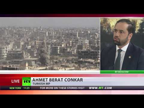 Conflicting positions between US, Russia & Turkey on the ground in Syria - Turkish MP Çonkar