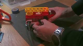Circuit Bent Fire Engine Toy