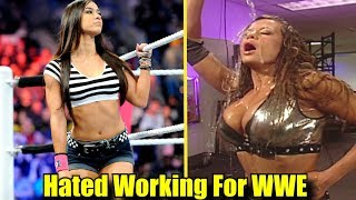 10 Female Wrestlers That Hated Working For WWE!