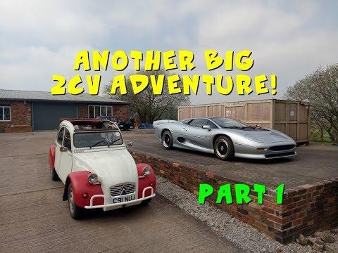 2CV 500-mile roadtrip Part 1 - Drive It Day, Jaguars, Auctions and more!