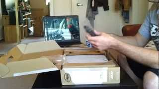 unboxing acer v3 771g 9809 gaming nvidia geforce gt 650 2gb vram 8gb ram intel 3632qm hm77