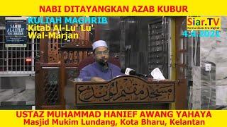 Ustaz Hanief Nabi Ditayangkan Azab Kubur