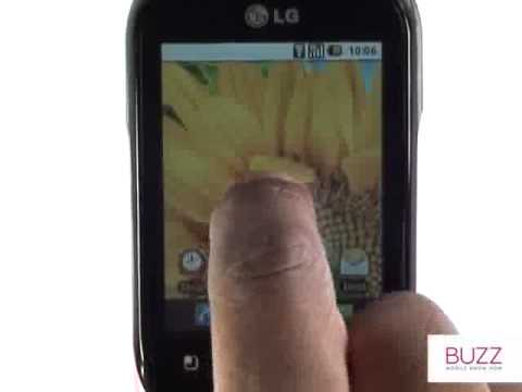 Using your browser | LG Optimus Chat | The Human Manual