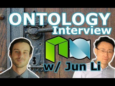 NEO News Now   In Person Interview w/ Jun Li Founder Ontology   Trust-Identification NEO Ecosystem